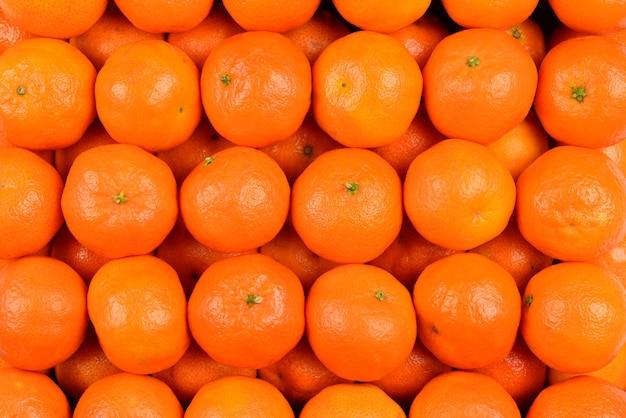 Mandaryn pomarańczowy tło.