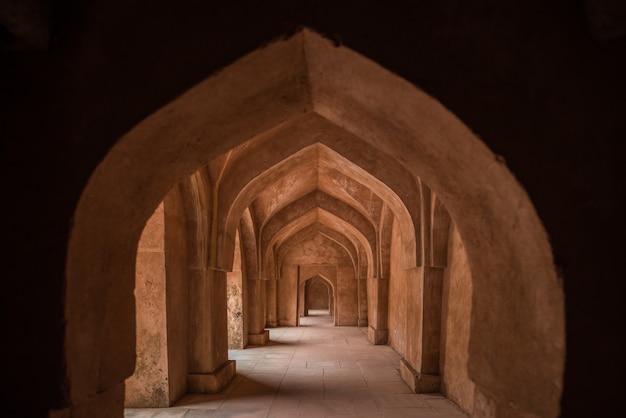 Mandu indie, afgańskie ruiny królestwa islamu