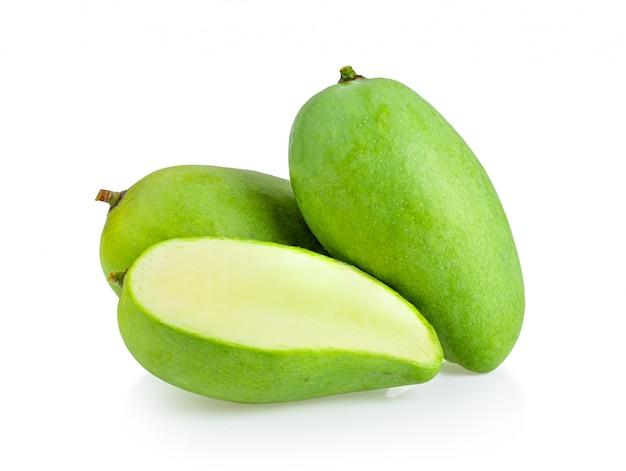 Mango na białej ścianie