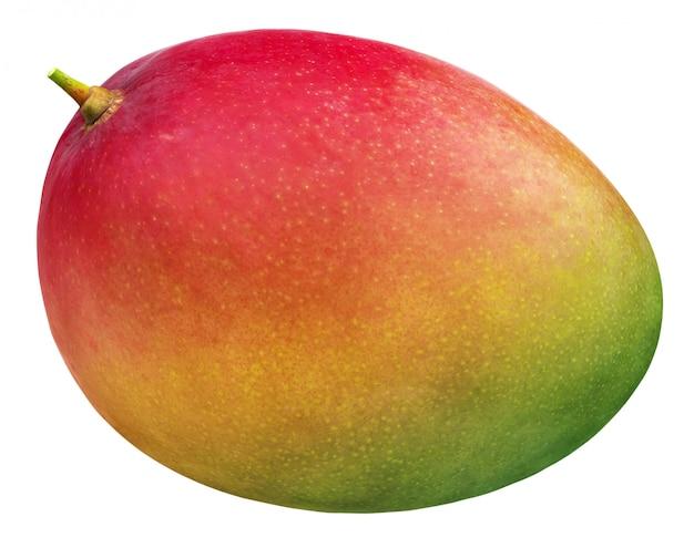 Mango na białym tle
