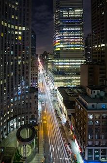 Manhattan nocą