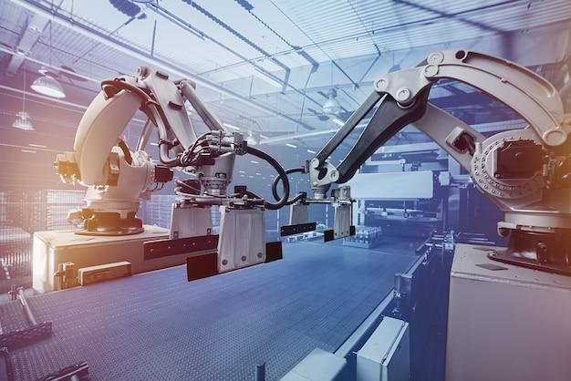 Manipulator ramienia robota.