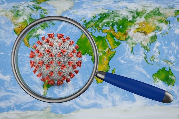 Mapa i koronawirus