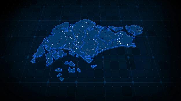 Mapa singapuru