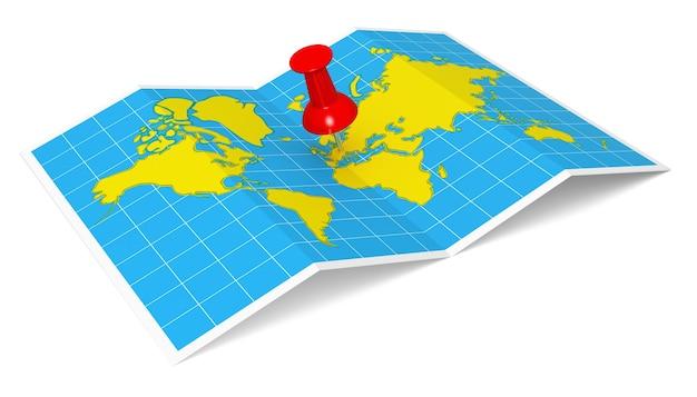Mapa świata z pineskami mapa źródłowa httpwwwlibutexasedumapsworldhtml