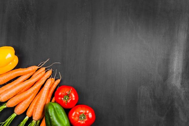 Marchew i warzywa z miejsca