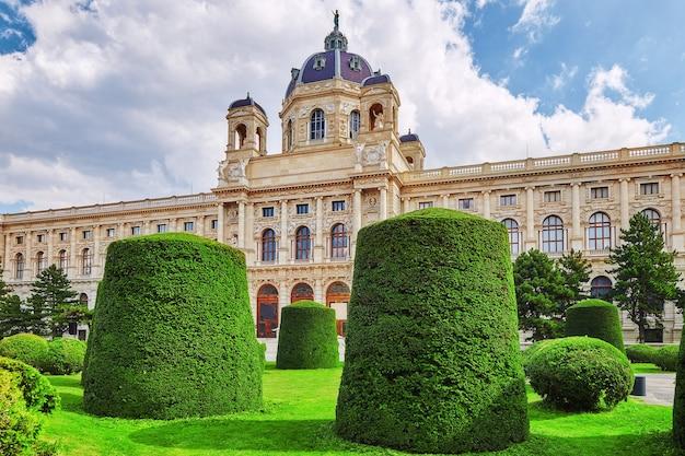 Maria teresa square.arts and history museum kunsthistorisches museum wiedeń, austria.