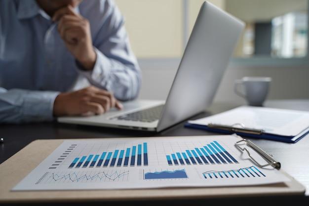 Marketing klienta sprzedaży dashboard graphics concept