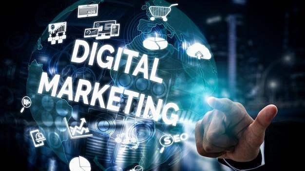 Marketing technologii cyfrowej koncepcja biznesowa