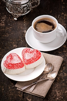 Marmolada w kształcie serca
