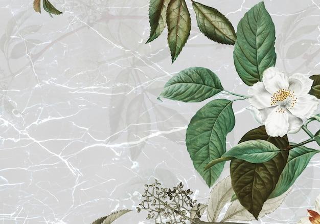 Marmur teksturowany z różą piżmową