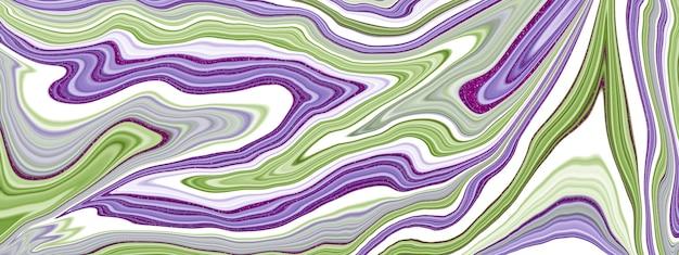 Marmurowa płynna tekstura atramentu. płynna sztuka. streszczenie tło farby.