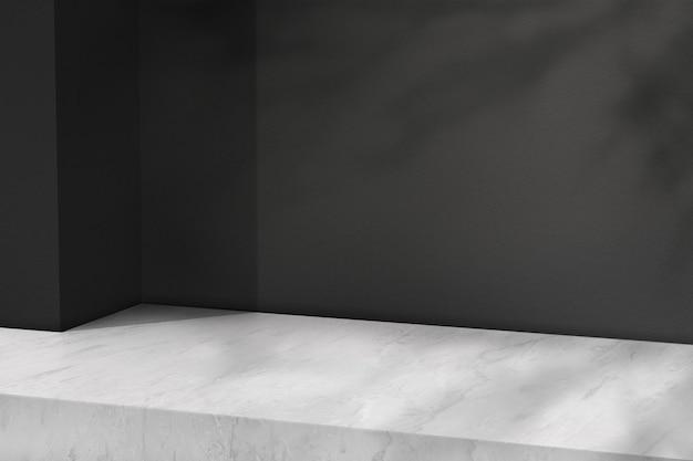 Marmurowe tło produktu z pustą przestrzenią