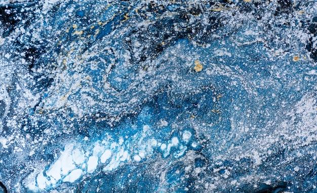 Marmurowy abstrakcjonistyczny akrylowy tło.