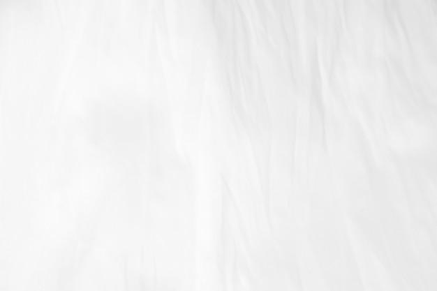 Marszczyć biała tkanina tekstura tło.
