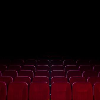 Martwa natura z fotelami kinowymi