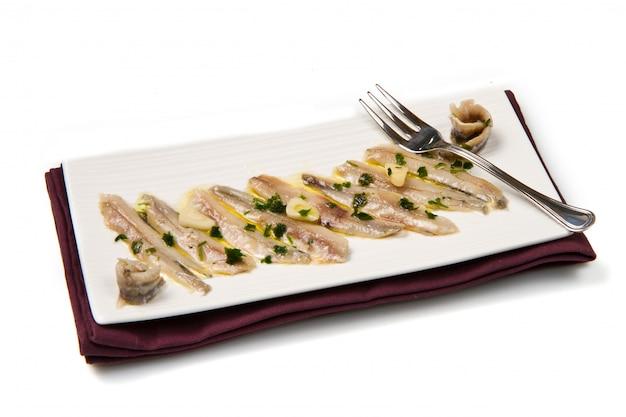 Marynowane anchois