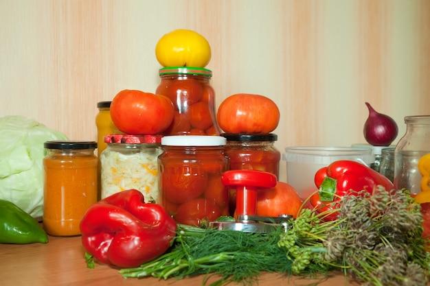 Marynowanie warzyw