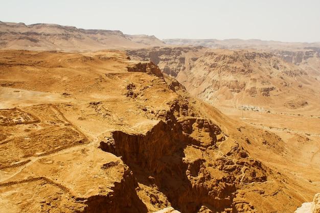 Masada, letni dzień