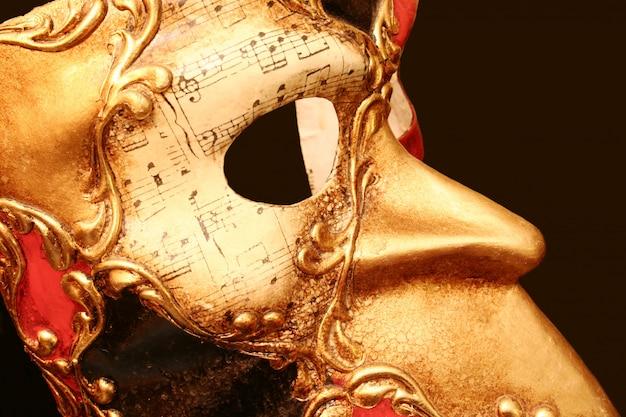 Maska karnawałowa w wenecji