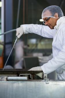 Maszyna do czyszczenia mięsa rzeźnik