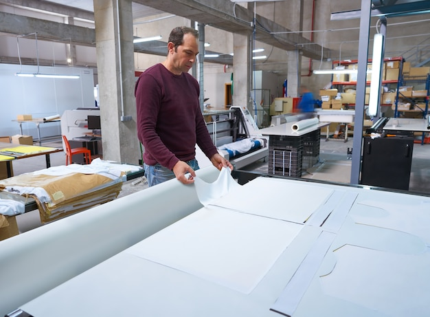 Maszyna do transferu kalendarza do druku tkanin