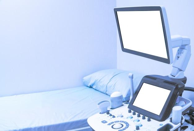 Maszyna do ultradźwięków z bliska