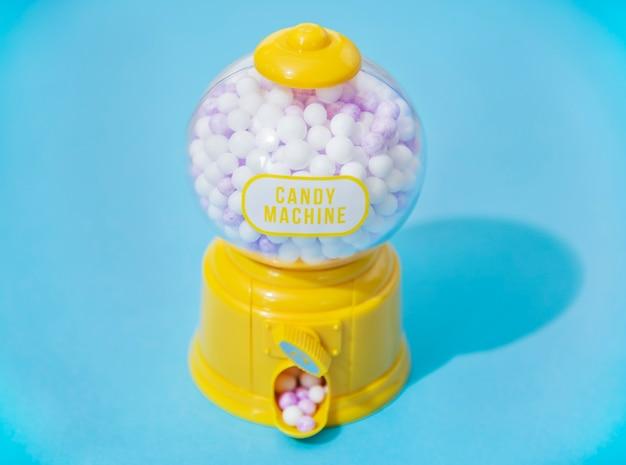 Maszyna kolorowe i jasne cukierki