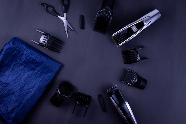 Maszynka do strzyżenia włosów czarna