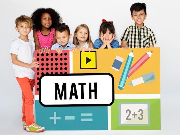 Matematyka formuła obliczanie edukacja grafika