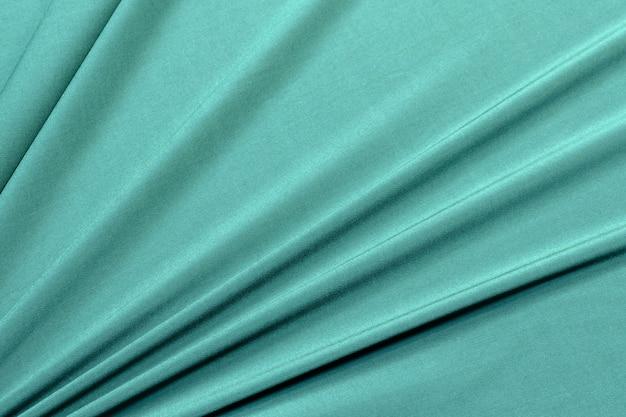 Materiał z wiskozy i elastanu w kolorze zielonym