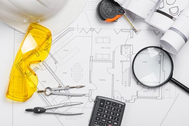 Materiały inżynieryjne i plan