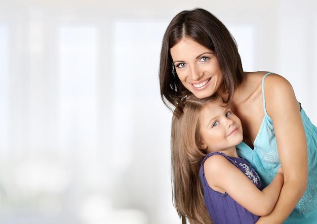 Matka trzyma córkę (seria)