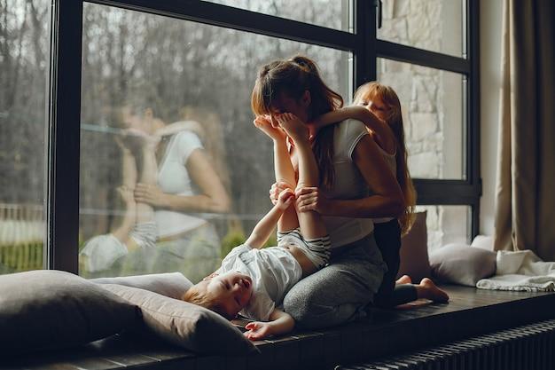 Matka z dwójką dzieci