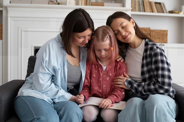Matki spędzające czas razem z córką