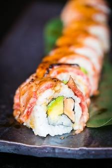 Matsusaka i wagyu wołowina sushi