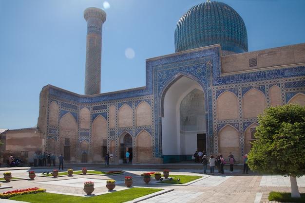 Mauzoleum amira temura gur emira latem w samarkandzie w uzbekistanie. 29.04.2019