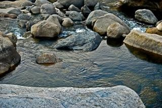 Meandrujące wody