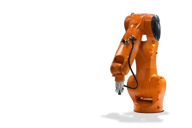 Mechaniczna ręka technologia robota przemysłowego