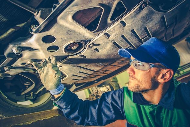 Mechanik mocowania samochodu