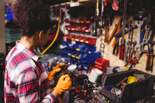 Mechanik pracy w warsztacie