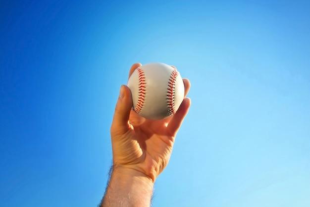 Mecz baseball'a.