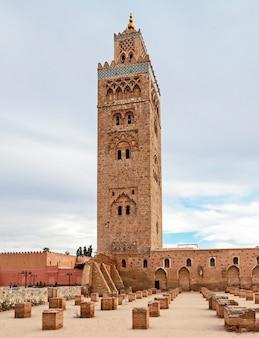 Meczet koutoubia w marrakeszu
