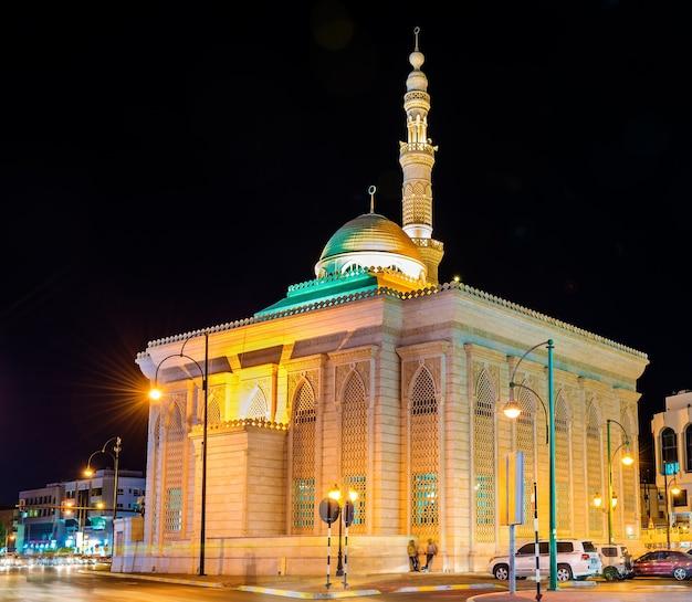Meczet masjid al zarawani w al ain - zjednoczone emiraty arabskie