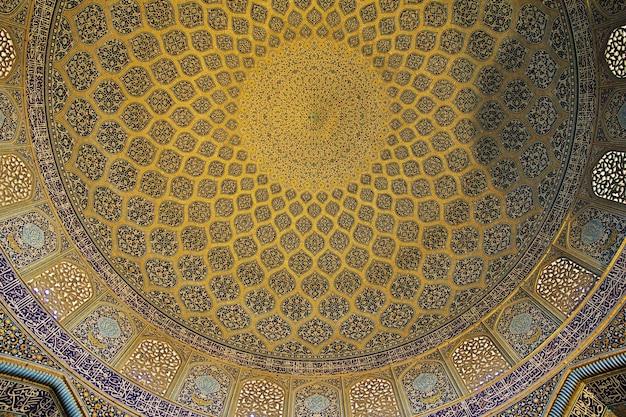 Meczet na placu naqsh-e jahan w isfahanie w iranie