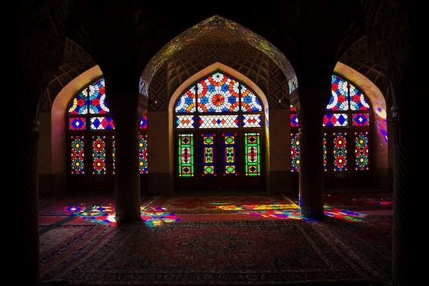 Meczet nasir-ol-molk w sziraz, iran