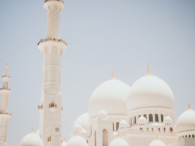 Meczet sheikh zayed w abu dhabi