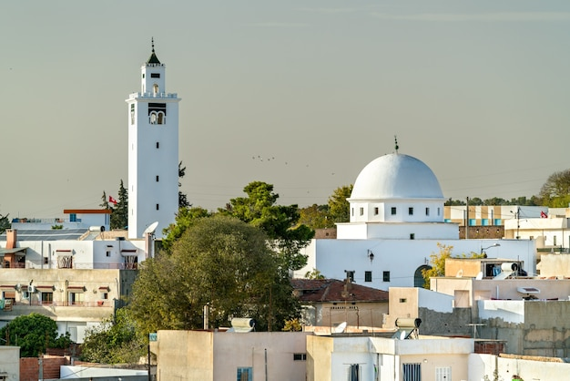 Meczet sidi ali bin saleh w le kef, tunezja. północna afryka