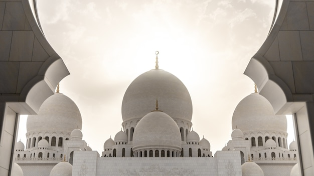 Meczet szejka zayeda w abu dhabi, zea