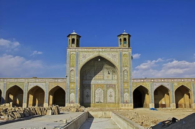 Meczet vakil w mieście shiraz, iran